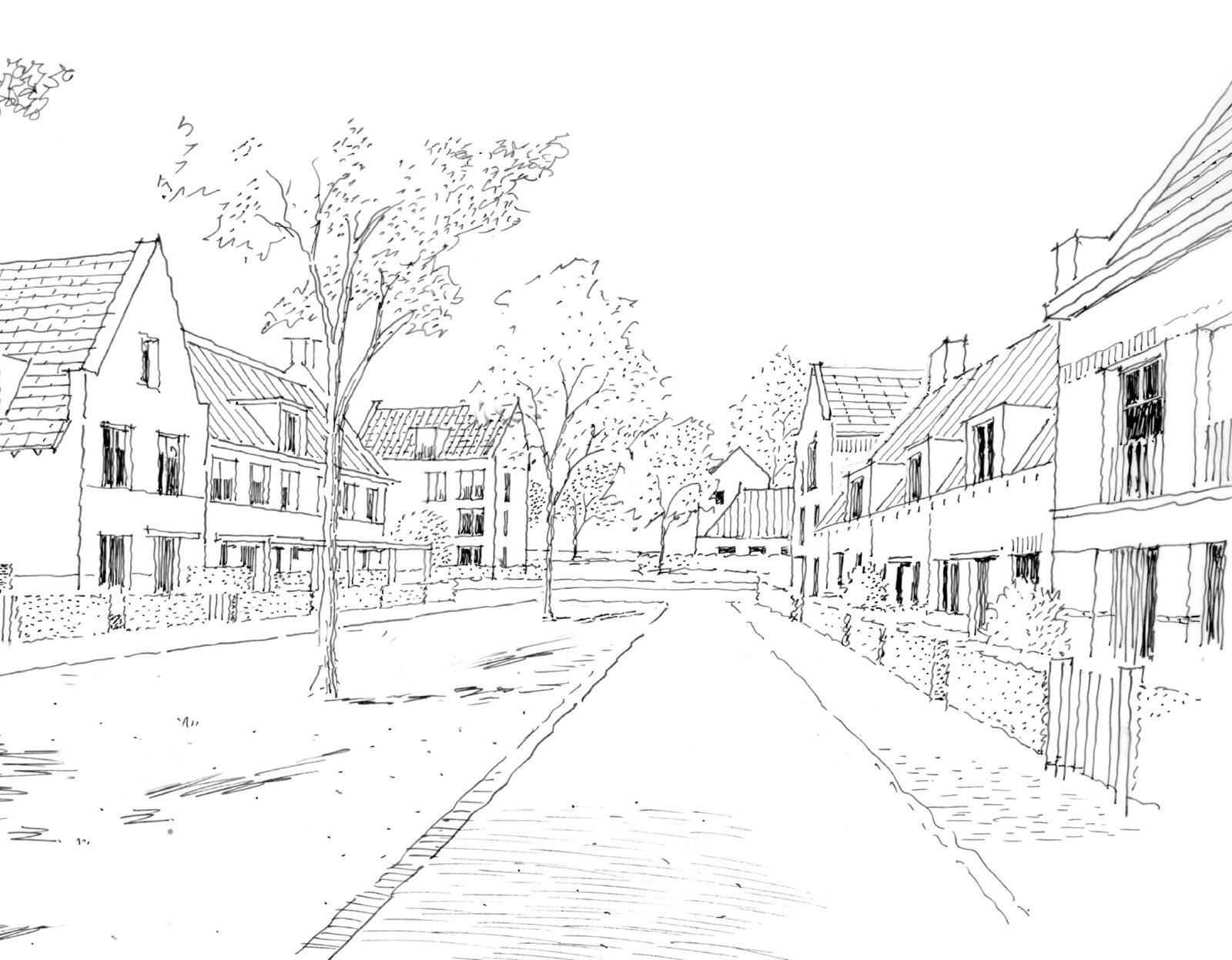 Groen en landelijk wonen in Velserbroek